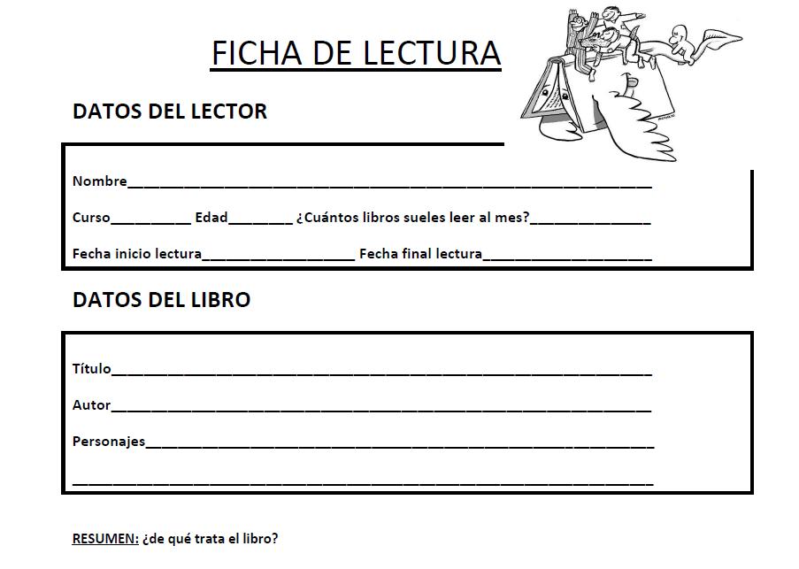 Ficha de lectura para alumnos de 1º, 2º y 3º de Primaria - academia ...